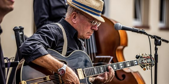 JazzPastry - Walter Würfel, Gitarre