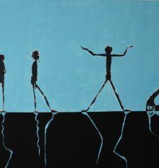 """""""Move your Body II"""" by Annegret Feldmann-Ihrig"""