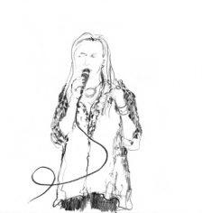 """""""Sängerin"""" by SabineFriebe-Minden"""